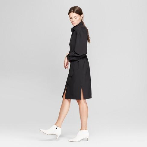 Womens Long Sleeve D Ring Shirt Dress Prologue Target
