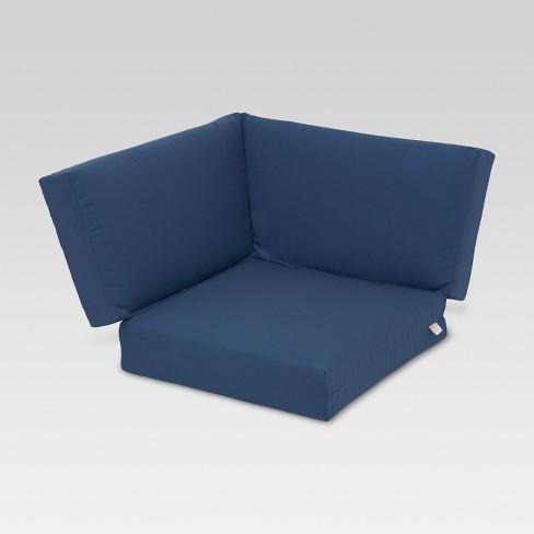 Sunbrella Heatherstone Corner Sectional Replacement Cushion Threshold