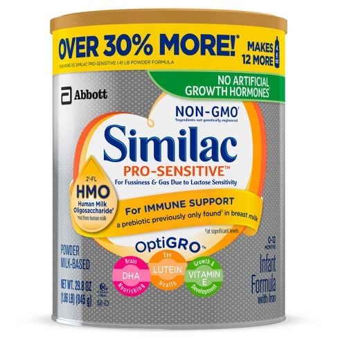 Similac Pro Sensitive Hmo Powder Value Size 29 8oz Target