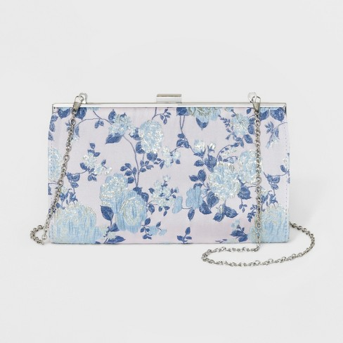 Estee & Lilly Floral Tapestry Oversized Frame Clutch - image 1 of 4