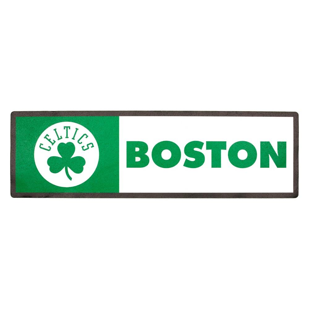 NBA Boston Celtics Outdoor Step Decal