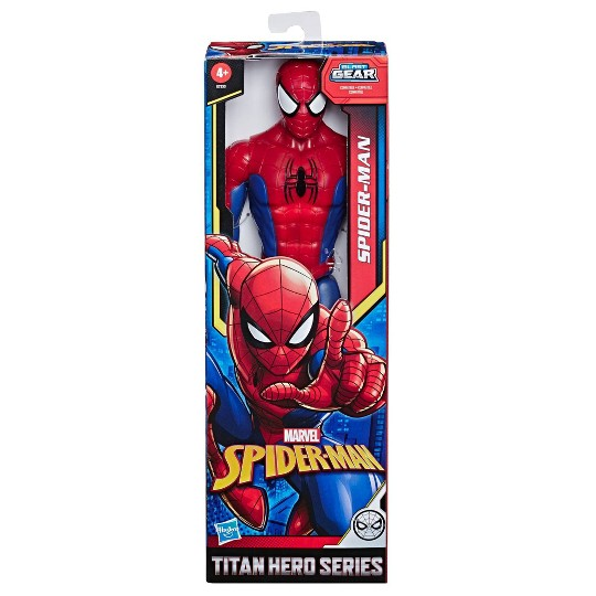 "Marvel Spider-Man Titan Hero Series Spider-Man 12"" Action Figure image number null"