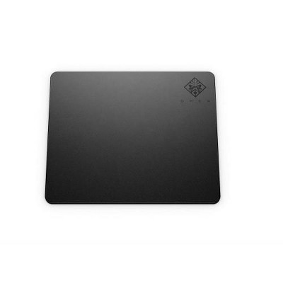 HP OMEN 100 Mouse Pad Black - Non-slip rubber base - 250km of mouse movement - Smooth Cloth Surface - Square size