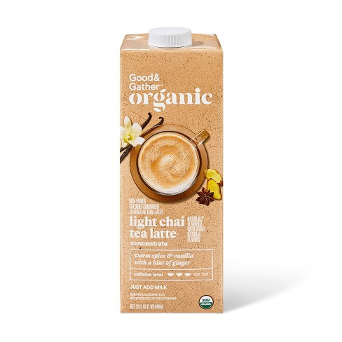 Organic Lite Chai Tea Latte Concentrate - 32oz - Good & Gather™ - image 1 of 3