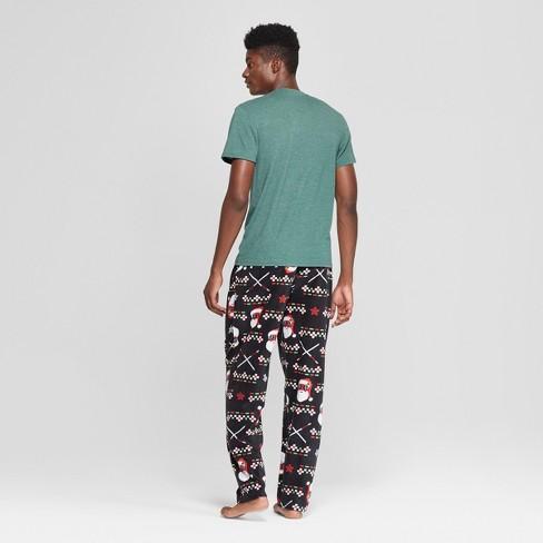 Men s Marvel Deadpool Novelty Pajama Set - Green M   Target 70a1ff220