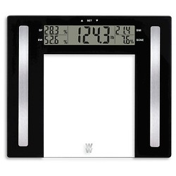 Glass Body Fat Scale Clear - Weight Watchers