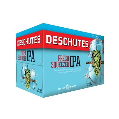 Deschutes Fresh Squeezed IPA Beer - 6pk/12 fl oz Cans