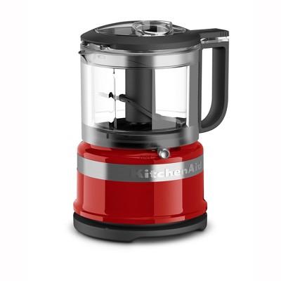 KitchenAid Refurbished 3.5 Cup Mini Food Processor - Red RKFC3516ER