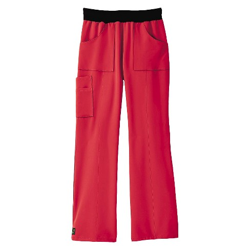 Pacific Ave Scrub Pants Pink X-Small - image 1 of 1