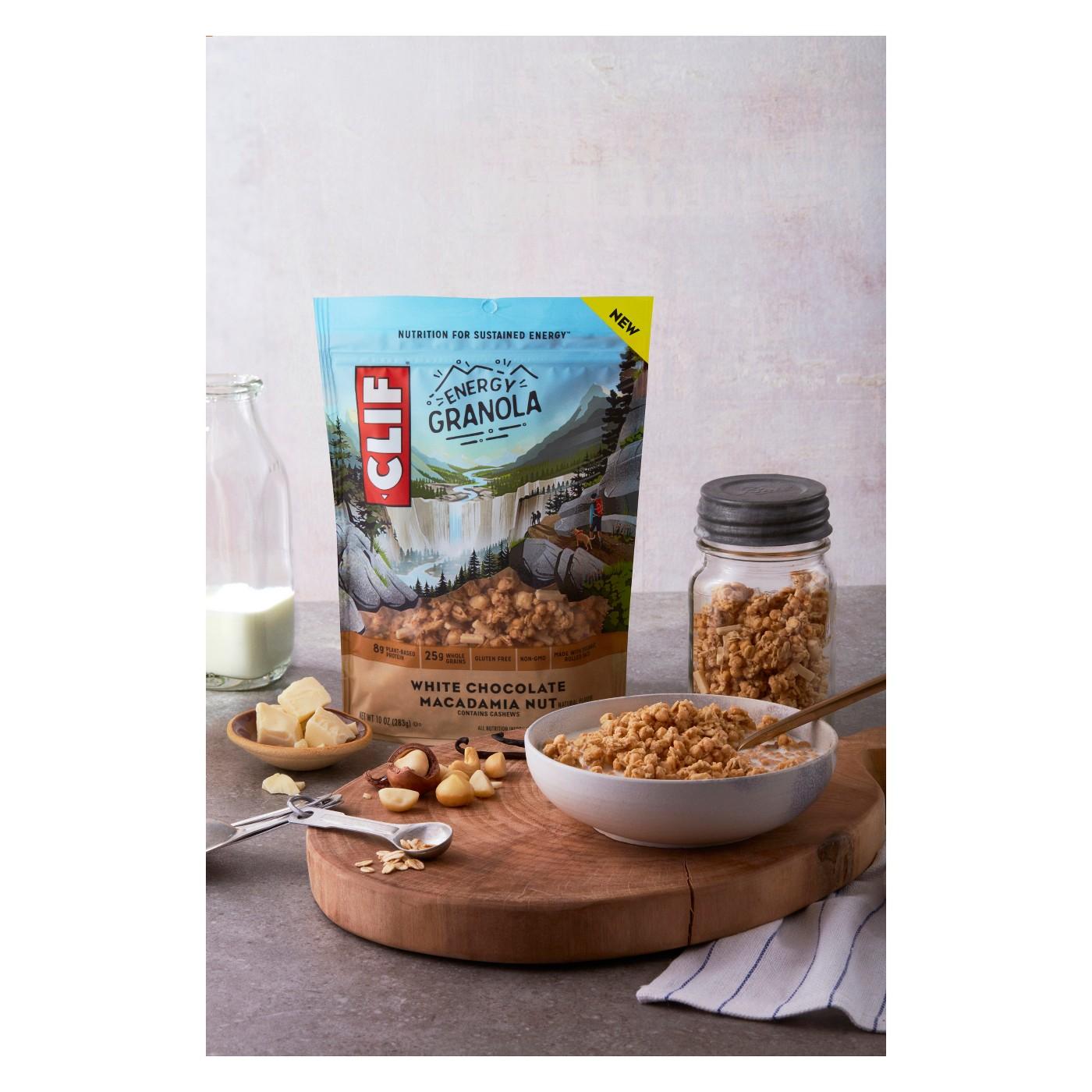 CLIF Energy White Chocolate Macadamia Nut Granola - 10oz - image 2 of 6
