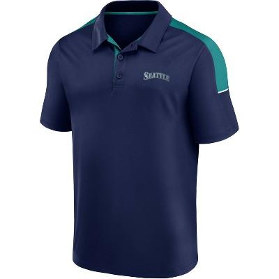 MLB Seattle Mariners Men's Polo Shirt