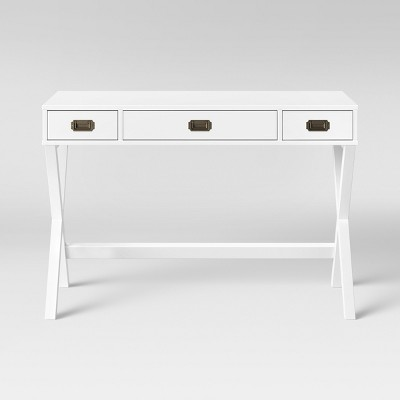 Campaign Wood Writing Desk with Drawers - Threshold™