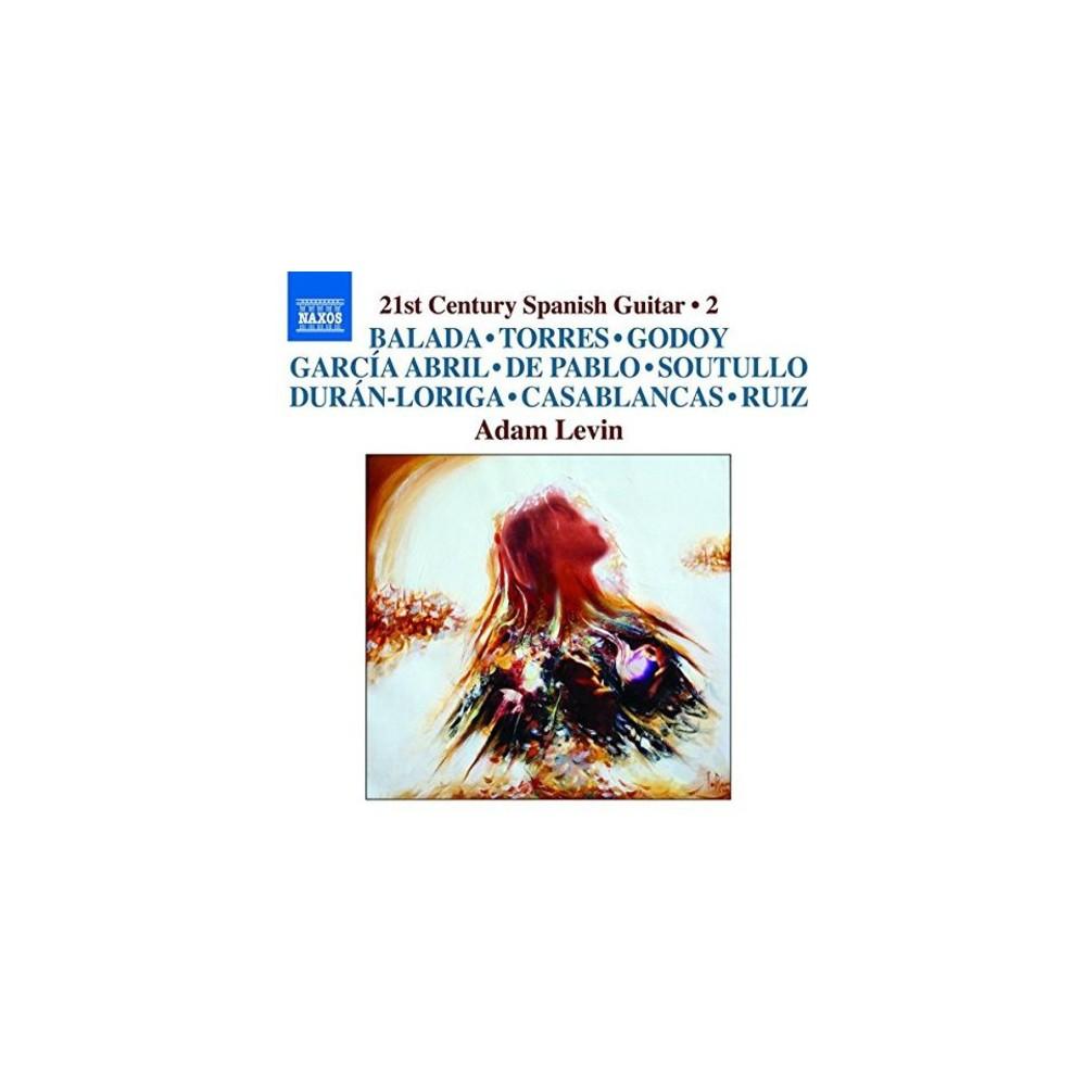 Adam Levin - 21st Century Spanish Guitar:Vol 2 (CD)