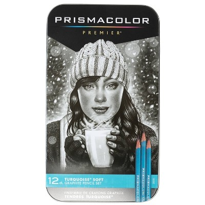Turquoise Pencil Art Set 12ct - Prismacolor