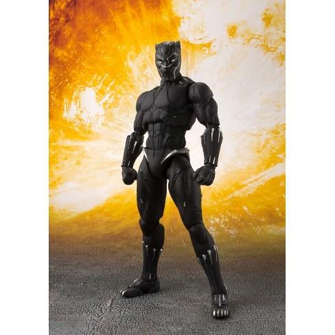 S.H.Figuarts - Avengers - Infinity War - Black Panther & Tamashii Effect Rock Action Figures - image 1 of 1