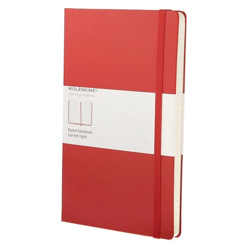 "Notebook Moleskine 8.312"" x 5.375"" Red - image 1 of 2"