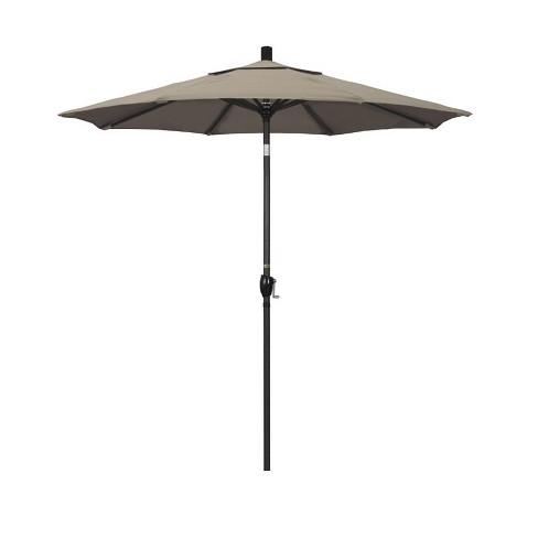 7.5' Patio Umbrella in Taupe - California Umbrella - image 1 of 2