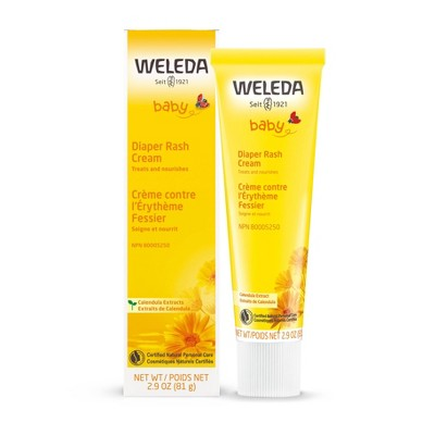 Weleda Calendula Diaper Cream with Zinc Oxide - 2.9oz