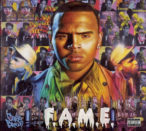 Chris Brown - F.A.M.E. [Explicit Lyrics] (CD) - image 1 of 1