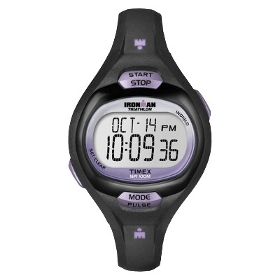 Women's Timex Ironman Essential Pulse Digital Watch - Black T5K187JT