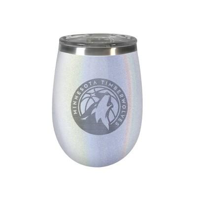 NBA Minnesota Timberwolves Opal Wine Tumbler - 12oz