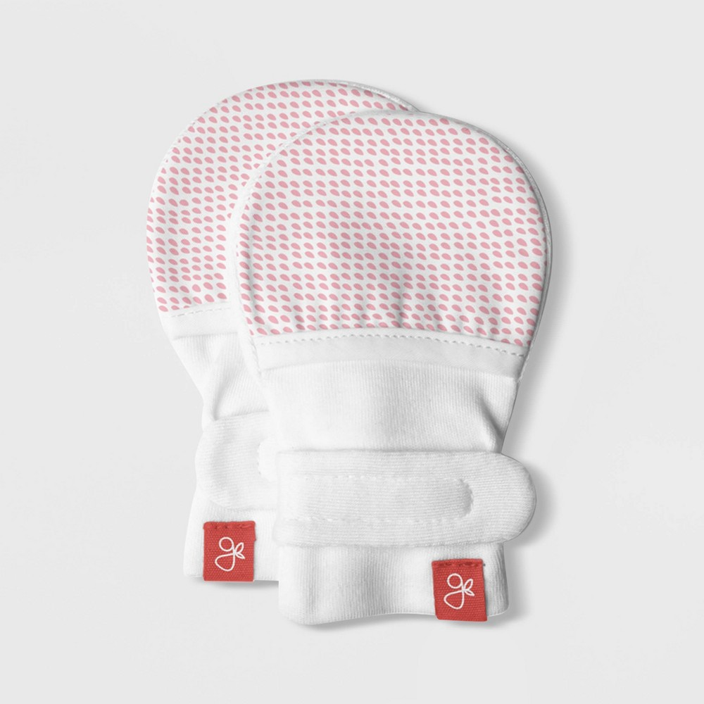 Image of goumikids Baby Girls' goumimitts Drops - Pink 0-3M, Girl's, Size: Small, Beige Pink