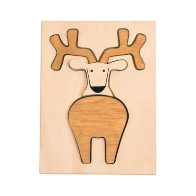 Manhattan Toy Wood Puzzle Deer