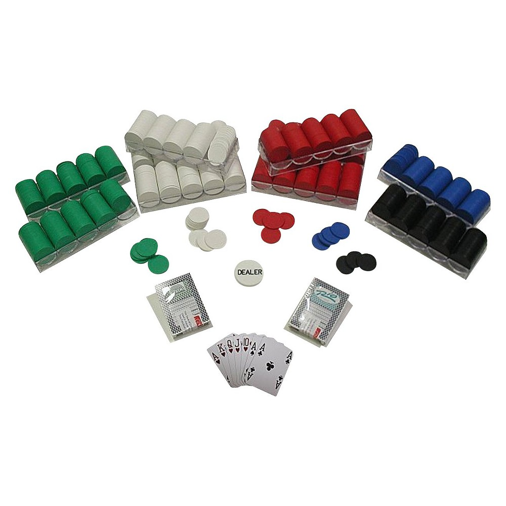 Trademark Global Texas Hold 'Em Poker Chip Set