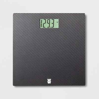 Carbon Personal Scale Black - Weight Watchers