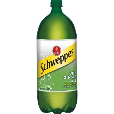 Diet Schweppes Ginger Ale - 2 L Bottle
