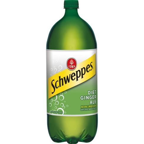 Diet Schweppes Ginger Ale - 2 L Bottle - image 1 of 1