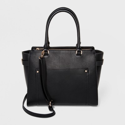 Wing Tote Bag - A New Day™ Black