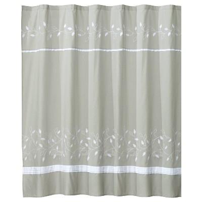 Kent Fabric Shower Curtain Moss Green - Saturday Knight Ltd.