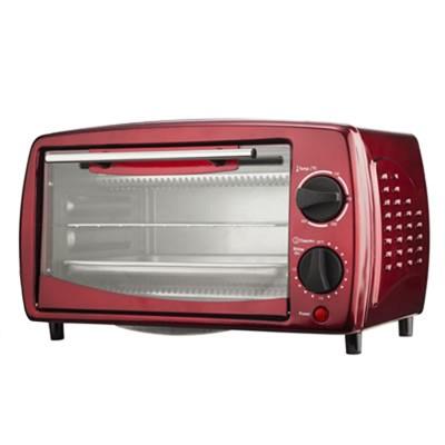 Brentwood 9-Liter 4 Slice Toaster Oven Broiler in Black
