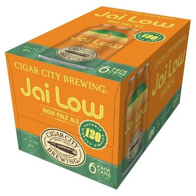 Cigar City Jai Low IPA Beer - 6pk/12 fl oz Cans