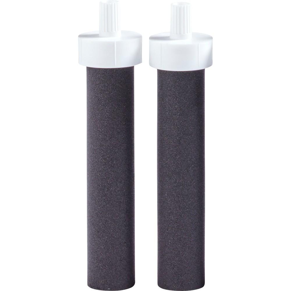 Image of Brita Water Bottle BPA Free Filter Replacements - 2ct, Black