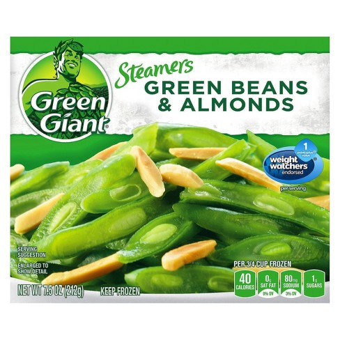 Green Giant Steamers Frozen Green Beans & Almonds - 7.5oz - image 1 of 1