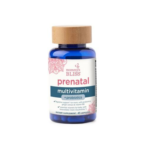 Mommy's Bliss Prenatal Multivitamins + Probiotics - 45ct - image 1 of 4