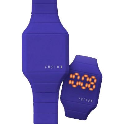 Boys' Fusion Hidden LED Digital Watch - Blue