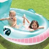 "Intex 57440EP 79"" x 77"" x 36"" Inflatable Whale Spray Kiddie Pool for Kids 2+ - image 3 of 4"