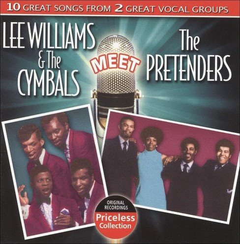 Lee & the williams - Lee williams & the cymbals meet the p (CD) - image 1 of 2