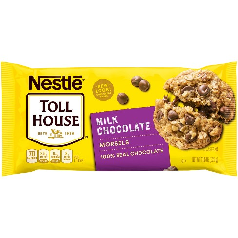 Nestle Toll House Real Milk Chocolate Chip Morsels - 11.5oz - image 1 of 4