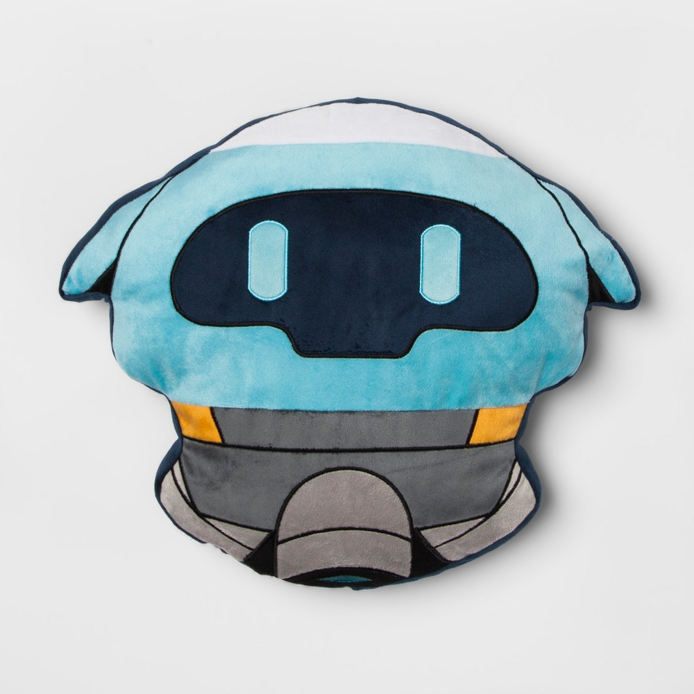 Image of Overwatch Throw Pillow Blue