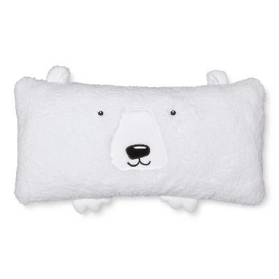 Polar Bear Rectangular Body Pillow White Pillowfort Target