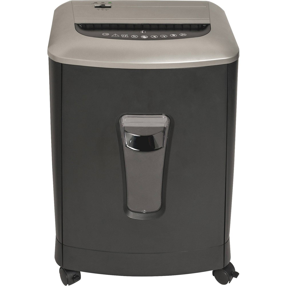 Image of Business Source Light Duty Cross-cut Shredder, Black