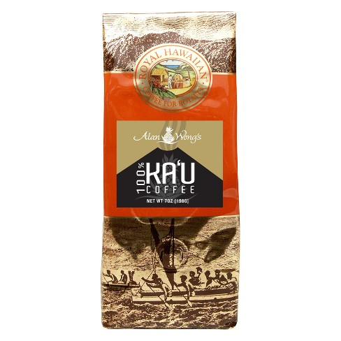 Royal Hawaiian Ka'U Medium Roast Ground Coffee - 7oz - image 1 of 1