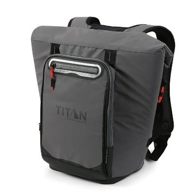 California Innovations Titan Deep Freeze 13qt Rolltop Backpack Cooler - Gray