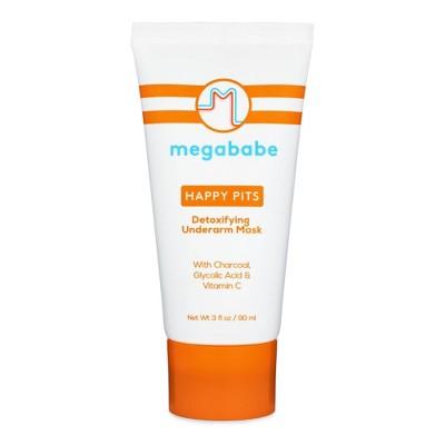 Megababe Happy Pits Detoxifying Underarm Mask - 3 fl oz