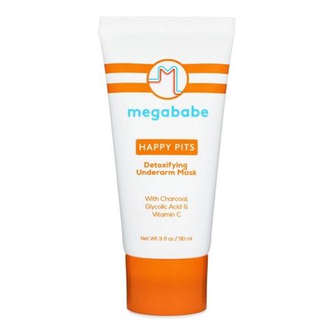 Megababe Happy Pits Detoxifying Underarm Mask - 3 fl oz - image 1 of 4