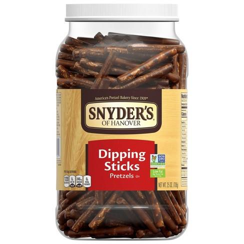 Snyder's Dipping Stick Pretzel Canister - 25oz - image 1 of 4